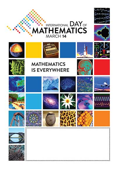 IDM Mathematics is Everywhere poster template