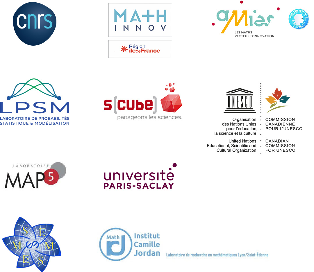 International Day of Mathematics Launch Sponsors